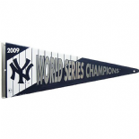 New York Yankees 2009 World Series Champions Metal Pennant